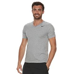 Big & Tall Nike Dry V-Neck Tee