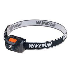 Wakeman Outdoors LED Four Mode 80-Lumen Head Lamp