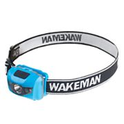 Wakeman Outdoors LED Four Mode 80-Lumen Head Lamp