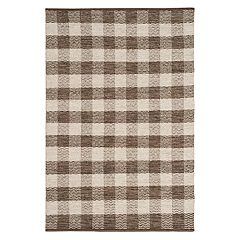 Safavieh Kilim Aubrey Plaid Wool Rug