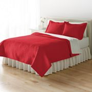 Home Classics® Anna Red Floral Standard Sham