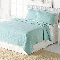 Home Classics® Anna Aqua Coastal Quilt