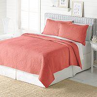 Home Classics® Anna Coral Coastal Quilt