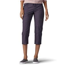 Women's Lee Margeaux Poplin Comfort Waist Pull-On Capris