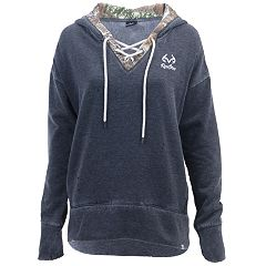 Women's Realtree Renue Lace-Up Hooded Sweatshirt