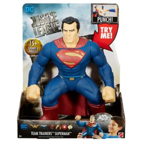 DC Movie Justice League Team Trainers Superman Figure