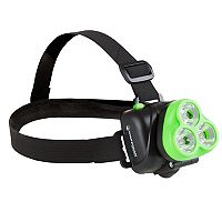 Wakeman Outdoors Adjustable Head Lamp & Hands Free Flashlight