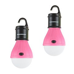 Wakeman Outdoors 2-pack Portable LED Tent Light Bulbs