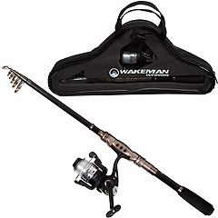 Wakeman Outdoors Fishing Rod and Reel Combo Set