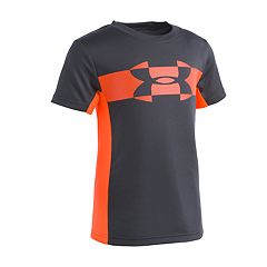 Boys 4-7 Under Armour Mesh Logo Tech Tee