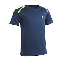Boys 4-7 Under Armour Logo Mesh Back Athletic Tee