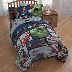 Marvel Avengers: Infinity War Team Up Twin Full Comforter