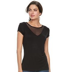 Women's Rock & Republic® Illusion Yoke Tee
