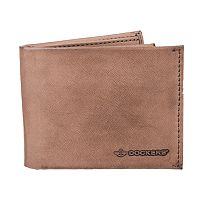 Men's Dockers® RFID-Blocking Leather Extra Capacity Slimfold Wallet