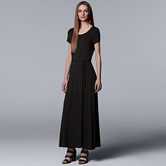Women's Simply Vera Vera Wang Faux-Wrap Maxi Dress