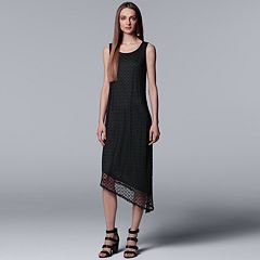 Women's Simply Vera Vera Wang Textured Lace Asymmetrical Dress
