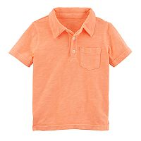 Boys 4-8 Carter's Solid Polo Top