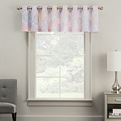 The Big One® Decorative Chrysanthemum Floral Window Valance