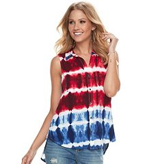 Women's Rock & Republic® Split-Back Shirt