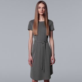 Women's Simply Vera Vera Wang Ribbed Sheath Dress