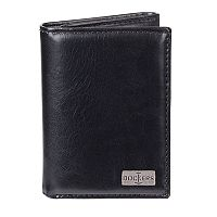 Men's Dockers® RFID-Blocking Leather Extra Capacity Trifold Wallet