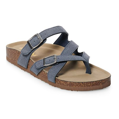 madden NYC Bunny Women's Footbed Sandals