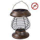 Wakeman Outdoors  Solar-Powered UV Mosquito Killer Zapper LED Lantern