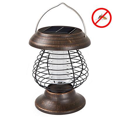 Wakeman Outdoors  Solar-Powered UV Mosquito Killer Zapper LED Lantern