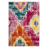 Safavieh Watercolor Kuron Abstract Geometric Rug