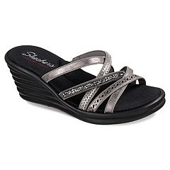 Skechers Rumblers Wave Women's Wedge Sandals