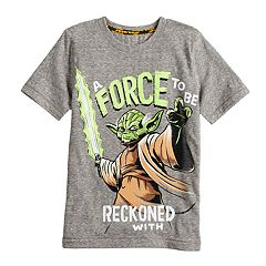 Boys 4-7x Star Wars a Collection for Kohl's 'A Force To Be Reckoned With' Yoda Tee
