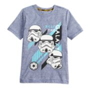 "Boys 4-7x Star Wars a Collection for Kohl's ""Rule the galaxy"" Storm Trooper Tee"