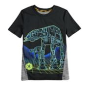 Boys 4-7x Star Wars a Collection for Kohl'sAT-AT Walker Tee