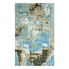 Rizzy Home Avant Garde Abstract Wool Blend Rug