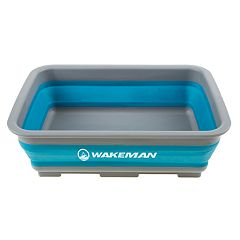 Wakeman Outdoors 10-Liter Collapsible Portable Camping Wash Basin
