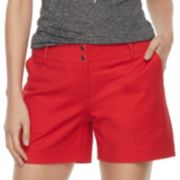 Women's Apt. 9® Torie Midrise Twill Shorts