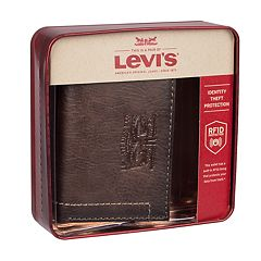 Men's Levi's RFID-Blocking Trifold Wallet