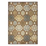 Rizzy Home Bennington Ornamental Floral Rug