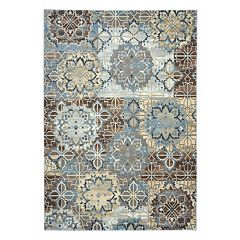 Rizzy Home Bennington Ornamental Medallion Rug