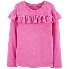 Girls 4-14 OshKosh B'gosh® Ruffled Knit Top