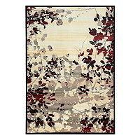 Rizzy Home Bay Side Floral Rug
