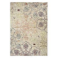 Rizzy Home Bay Side Abstract Floral Rug