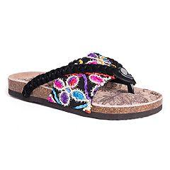 MUK LUKS Elaine Women's Thong Sandals