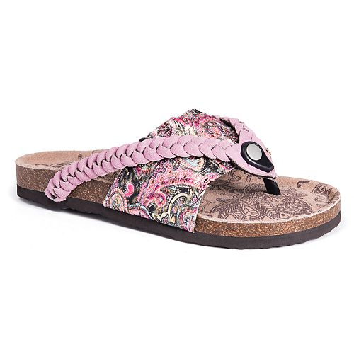MUK LUKS Elaine Women's Thong ... Sandals discount manchester great sale Inexpensive sale online cheap sale top quality clearance new arrival 96EYqj