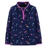Girls 4-12 OshKosh B'gosh® Star 1/2-Zip Microfleece Pullover