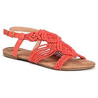 MUK LUKS Elise Women's Sling-Back Sandals