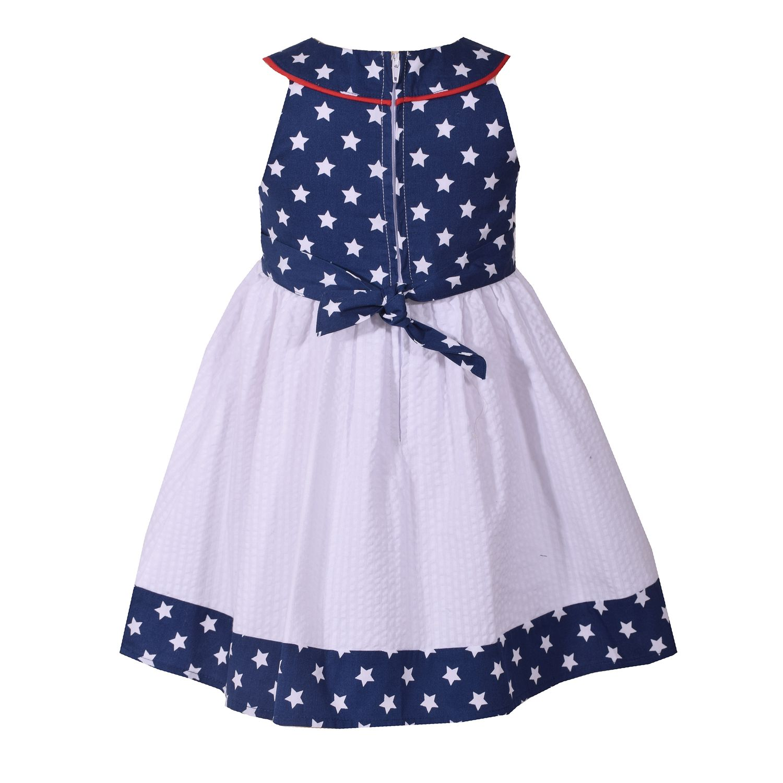 Girls Patriotic Kids Toddlers Dresses Clothing