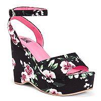 MUK LUKS Elodie Women's Wedge Sandals
