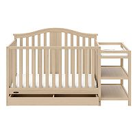 Graco Solano 4-in-1 Convertible Crib & Changer with Drawer