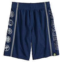 Boys 4-10 Marvel Hero Elite Series Avengers Infinity Wars Collection for Kohl's Reflective Active Shorts